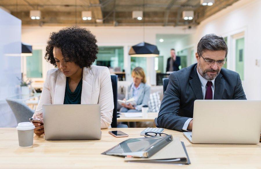 pensamientos negativos en el trabajo