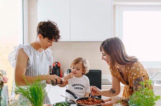 Enseñar a comer a nuestros hijos