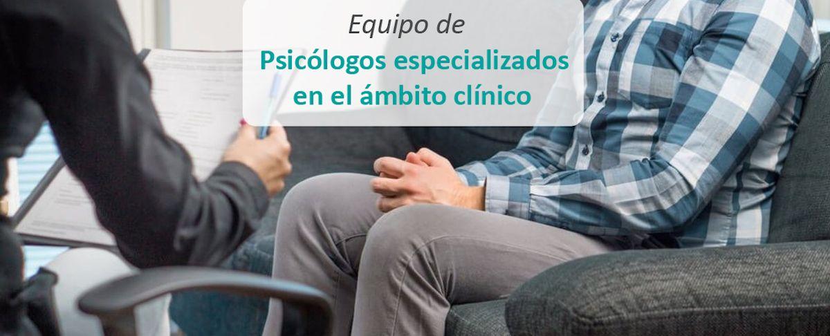 Equipo de Psicólogos especializados en el ámbito clínico