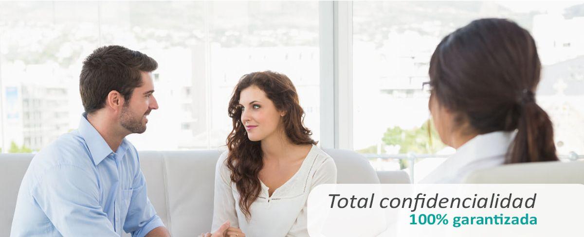 Total confidencialidad - 100% garantizada